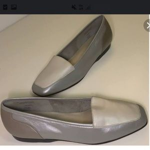 Enzo Angiolini tri colored loafers
